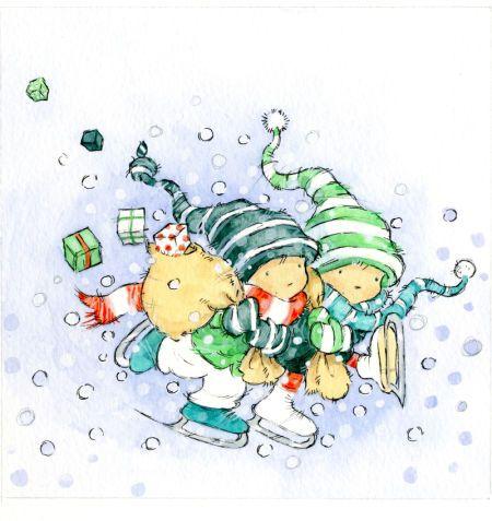 Weihnachtsgrube liebesbrief