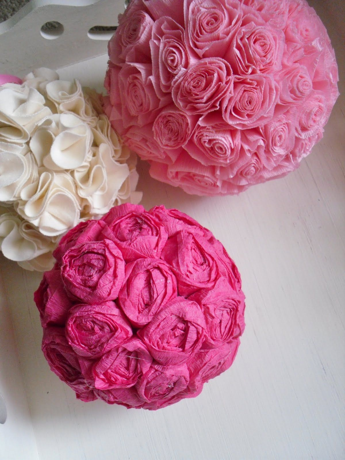 Pin by brittani beegle on roses 1st birthday pinterest explore flower ball diy flower and more mightylinksfo