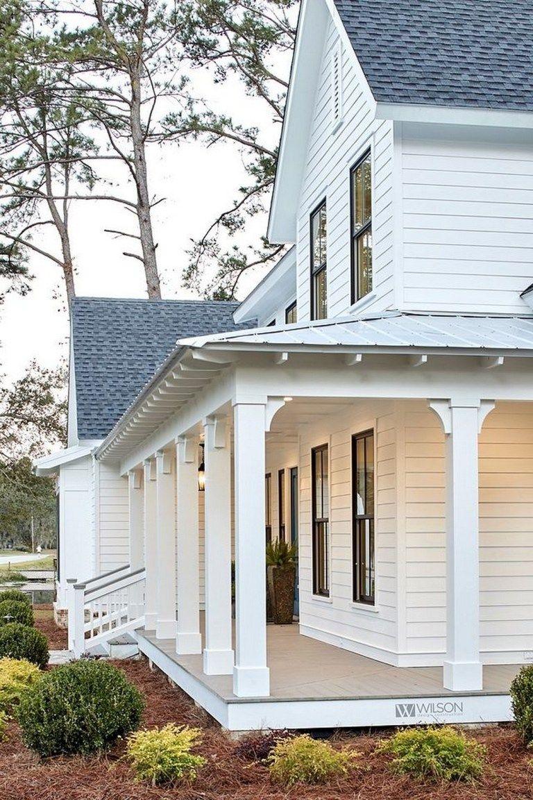 55 Farmhouse Build Finishes And Sources Farmhouse Room Porch Design House Exterior Front Porch Design