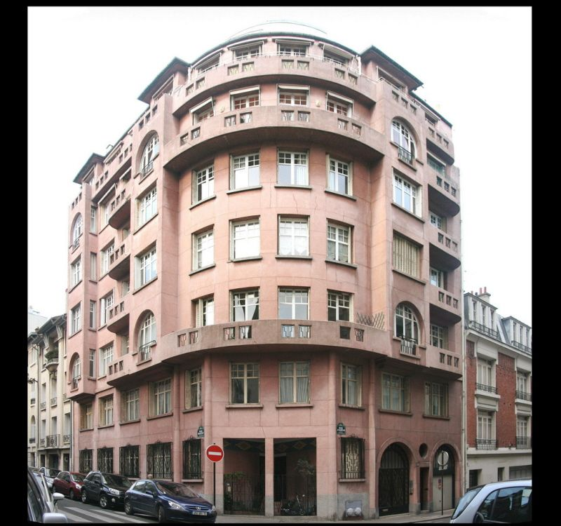 immeuble d habitation 1928 16 rue raffet 75016 architecte antoine morosolli