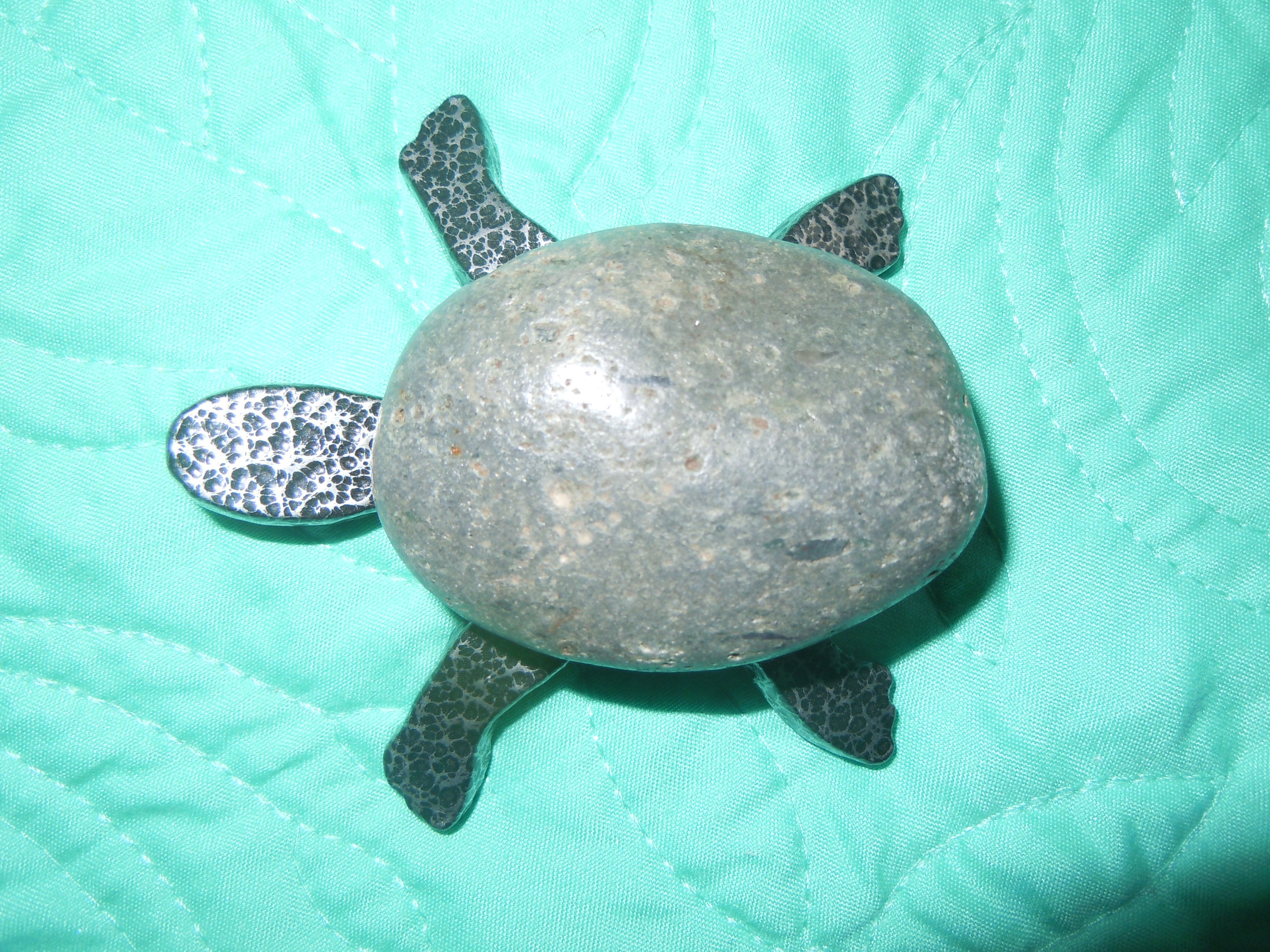 Minnesota Fieldstone & Iron Turtle