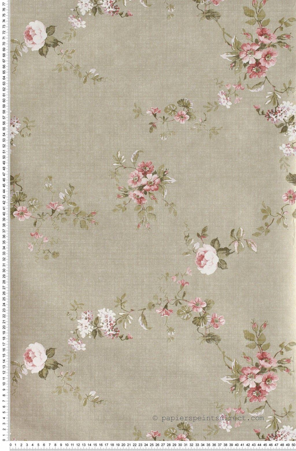 papier peint anglais papier peint shabby chic bleu rose papier peint en anglais la fine fleur. Black Bedroom Furniture Sets. Home Design Ideas