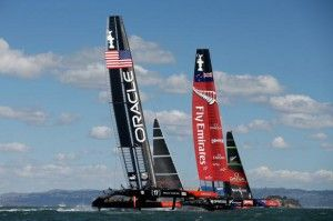 In the last eighteen months there has been considerable coverage of the America's Cup held in San Francisco. You may even know that it concluded with one of the greatest comebacks in sports history...
