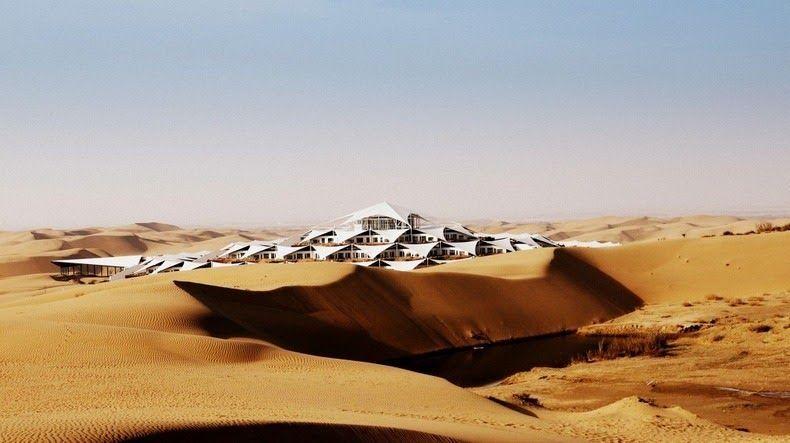 Desert Lotus Hotel in Inner Mongolia
