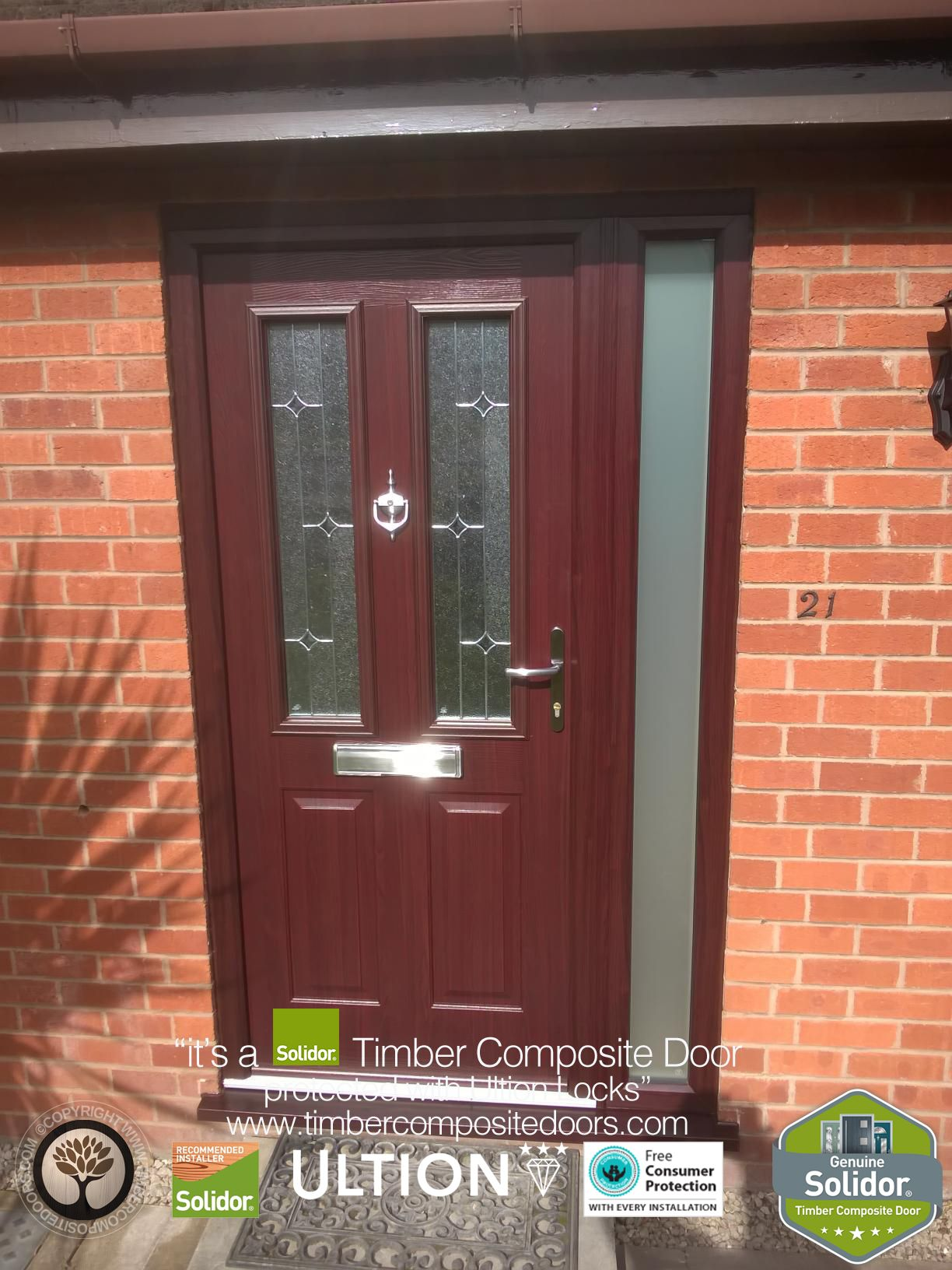 Hey, what do you think of this new Solidor Composite Door, installed ...