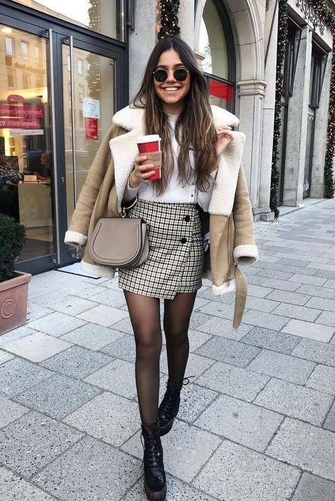 25+ Winter Street Style Outfits, die dich stilvoll und warm halten #winteroutfitsforwork