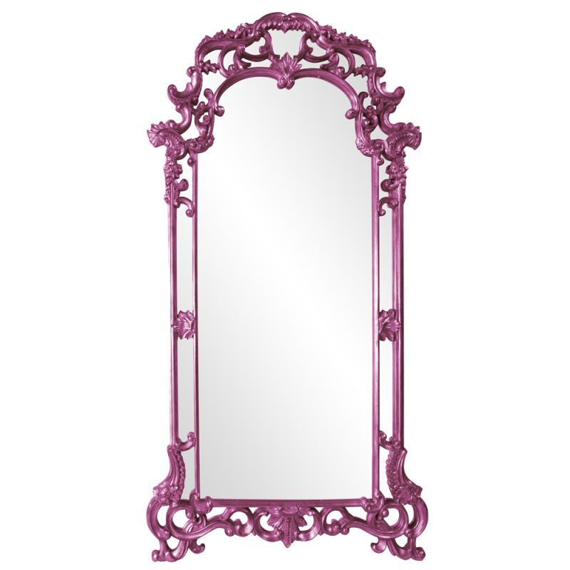 "Howard Elliott 92024HP Imperial 85"" x 44"" Oversized Hot Pink Mirror Hot Pink Home Decor Mirrors Lighting"