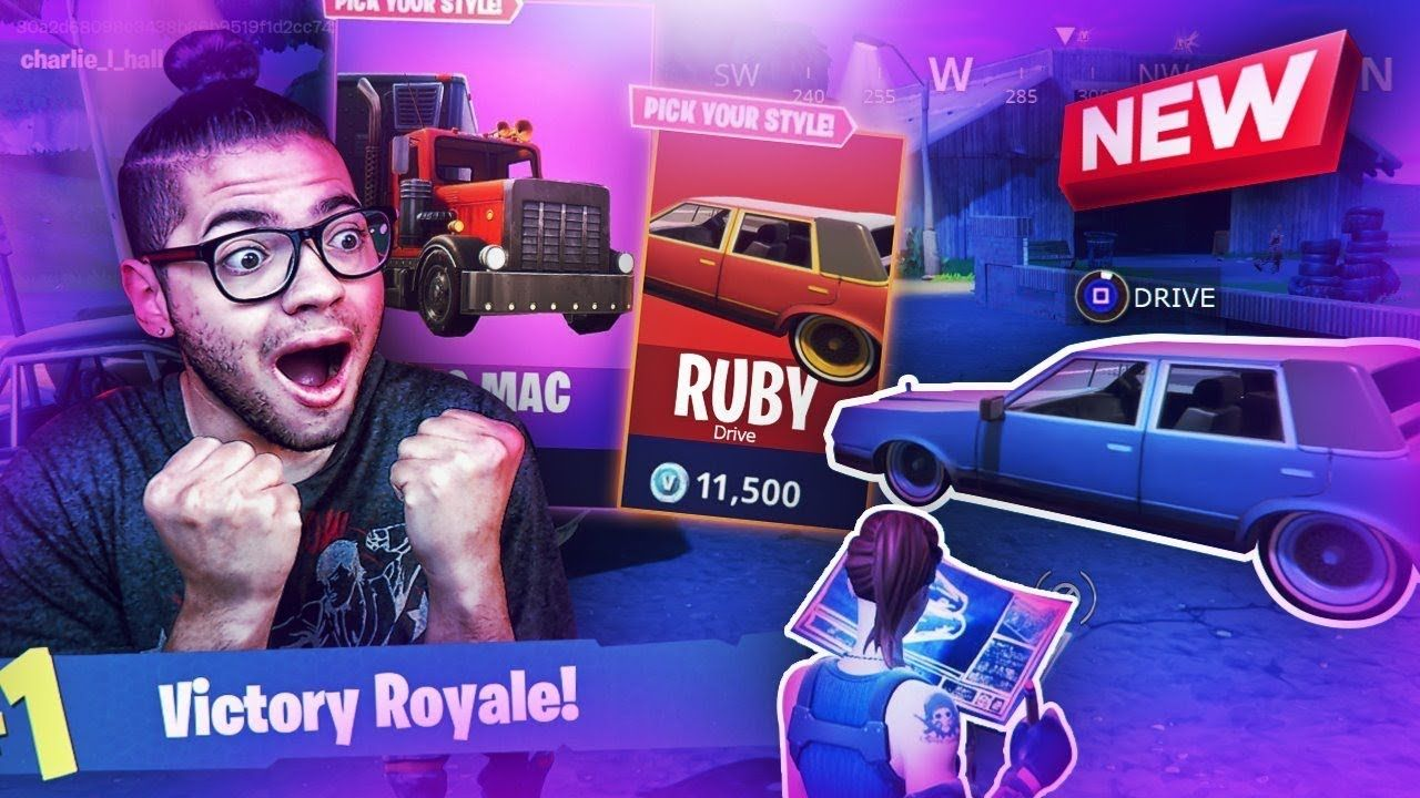 *NEW* DRIVING VEHICLES COMING TO FORTNITE BATTLE ROYALE