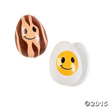 Bacon and egg easter eggs 12 pack party supplies canada open a bacon and egg easter eggs 12 pack party supplies canada open a party negle Gallery