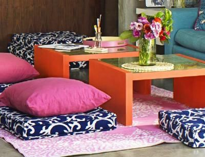 Great Tables From Ikea Easy To Customize Floor Seating