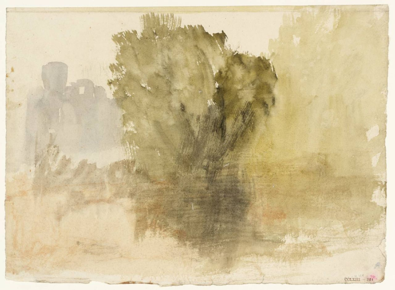 Fourteenth J M W Turner Tree By The Water Joseph Mallord