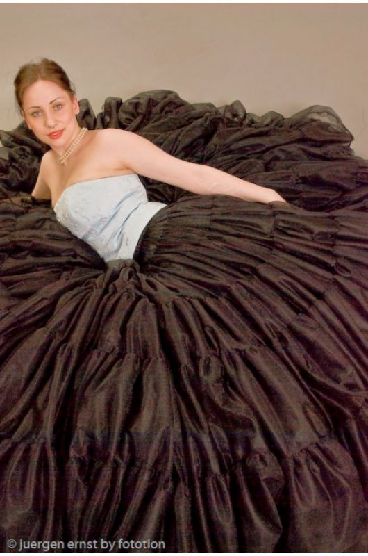 SETRINO Petticoat ELITE several colors  Petticoats  essence of femininity  Petticoat schwarz