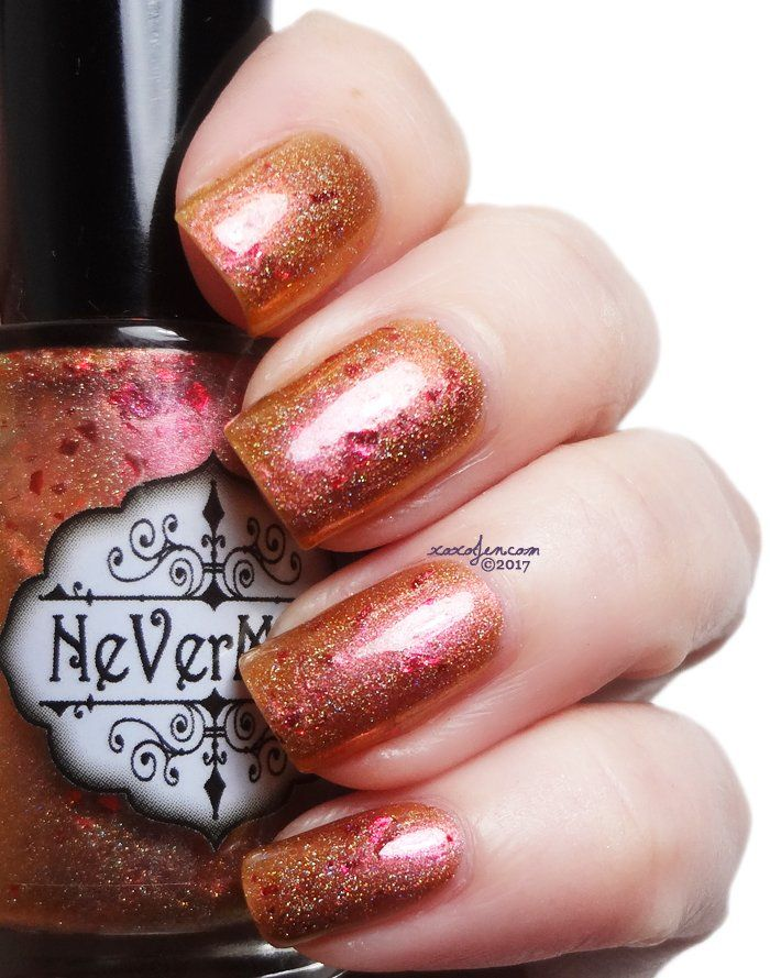Penny Dreadful Inspired by the TV show Penny Dreadful this polish is a rich blend of a copper holo with a red-pink shift and metallic red flakies. Be sure to add this to your collection especially with it being such a perfect fall carnival shade!Best if used in two coats. Made by Nevermind Exclusively for the Road to Polish Con Chicago 2017 series.All polished are sold on a pre-order basis. This means that the sale will last from Sunday 9am EDT through Saturday midnight....