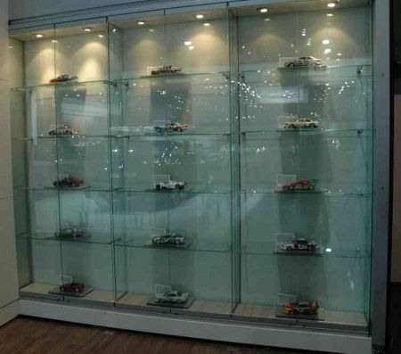 Space And Lighting Are Two Critical Elements In Designing A Model Car  Display Case. This