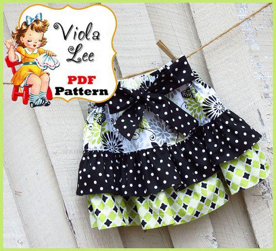Madalyn.... Ruffled Twirl Skirt Pattern. par ViolaLeePatterns, $6.50