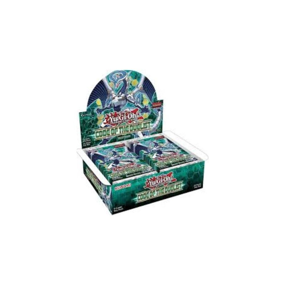 Yugioh code of the duelist booster box collectible card