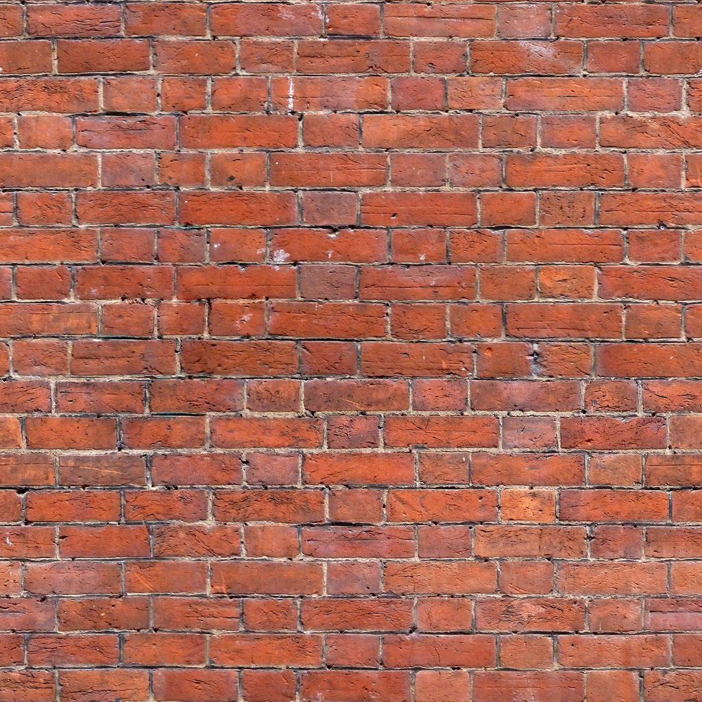 Seamless Bricks Wall Texture 1024 X