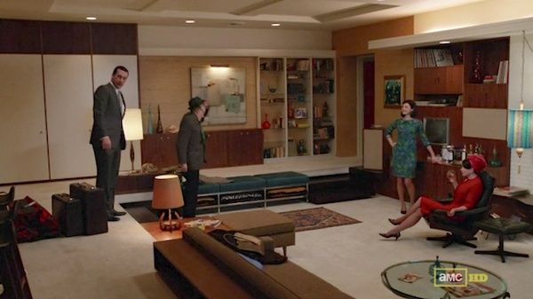 Megan S Flashy Formalwear Sally S Gogo Boots And 16 More Mad Men Fashion Highlights Mad Men Fashion Mad Men Interior Design New Homes