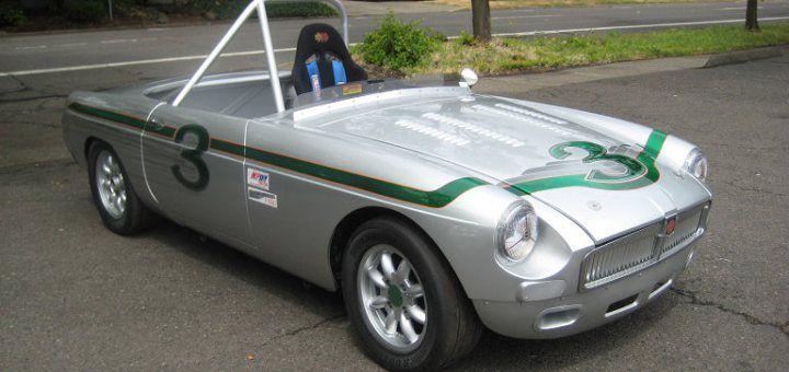 1962 MG MGB Vintage Racer