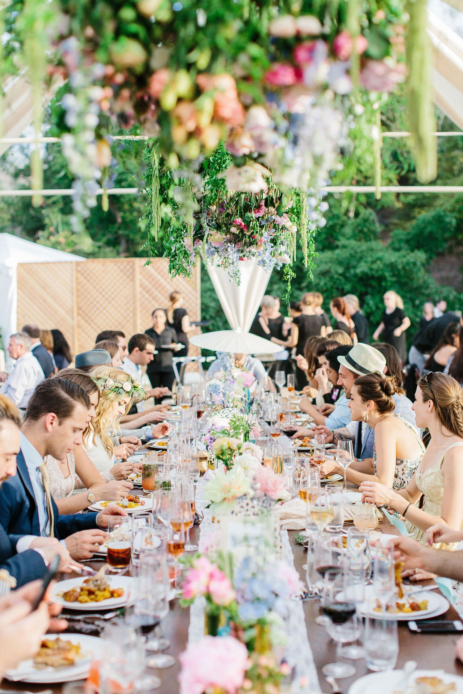 An Eclectic, Outdoor Wedding in the Escondido Mountains