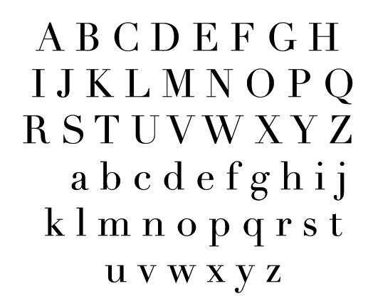 Didot Or Bodoni  Case Study Didot Typeface    Type