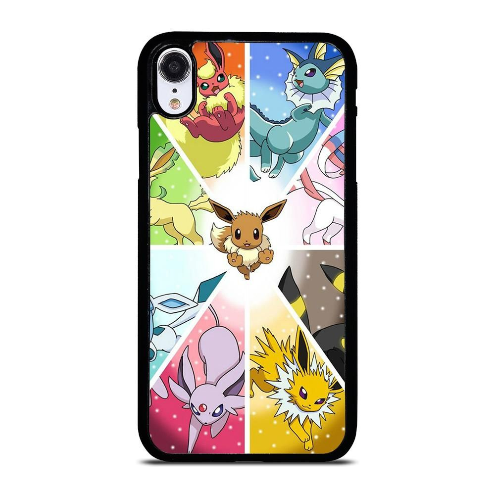 POKEMON ALL EEVEE iPhone XR Case Cover