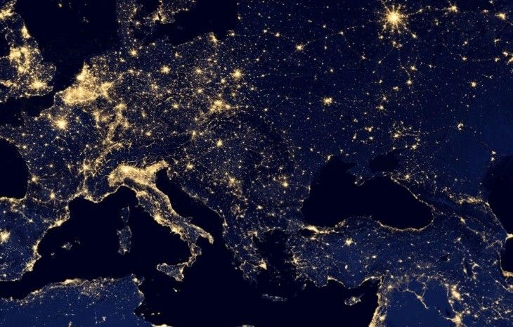 Google Maps Adds Black Marble Imagery City Lights At Night Earth At Night Light Pollution
