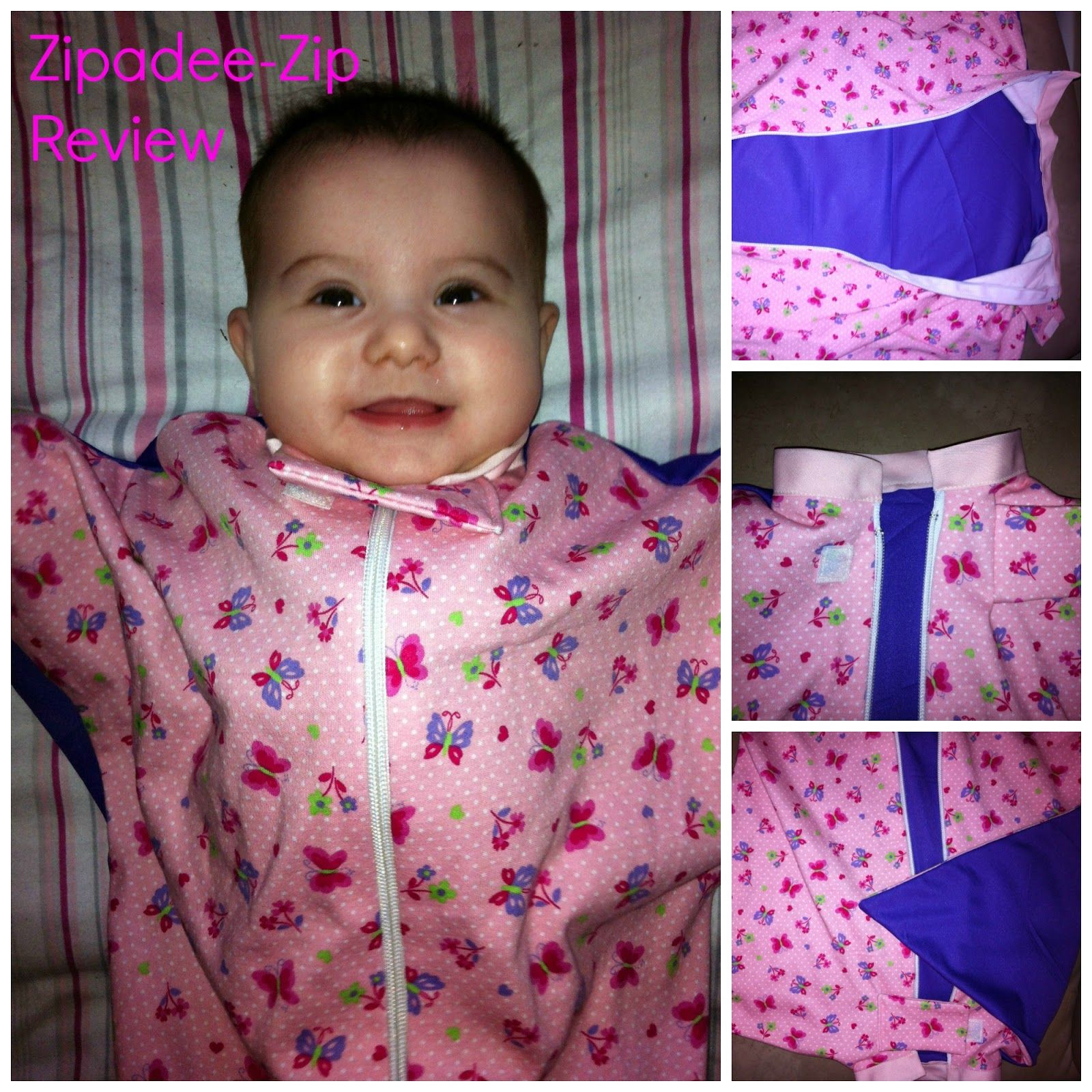 So Sew Mama: Transition from the swaddle ~ A Zipadee-Zip review ...