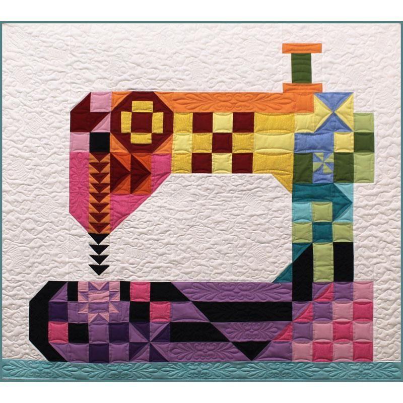 Stitch Happens Pattern Maquinas De Coser Dibujo Cuarto De Costura Patchwork