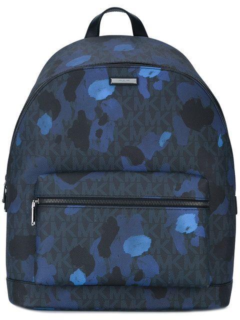 e64df8ccb6cc ... order michael kors paint splash backpack. michaelkors bags canvas  backpacks polyester f88ce 97e4e