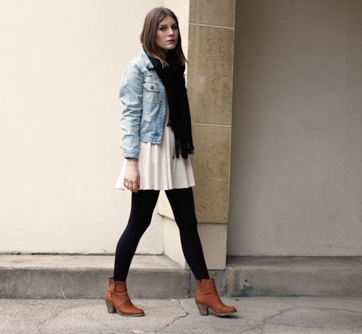 dress-with-boots-outfits.jpg (737×679)