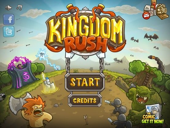 Kingdom Rush Very Entertaining Tower Defense Game That I Come