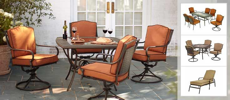 The Mallorca Collectionu0027s 7 Piece Dining Set From Martha Stewart Living