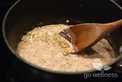 Nutrition and Wellness Bytes: Warm Buckwheat Groats with Apples and Cranberries