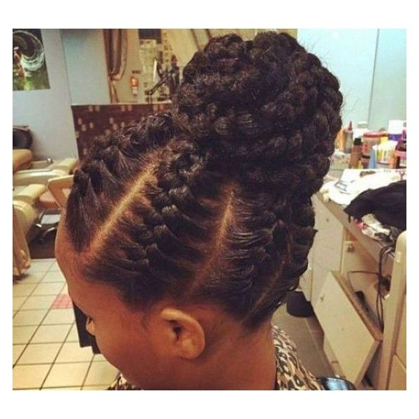 Latest Cornrow Braids Updo Hairstyles For Black Women 2016 Style In