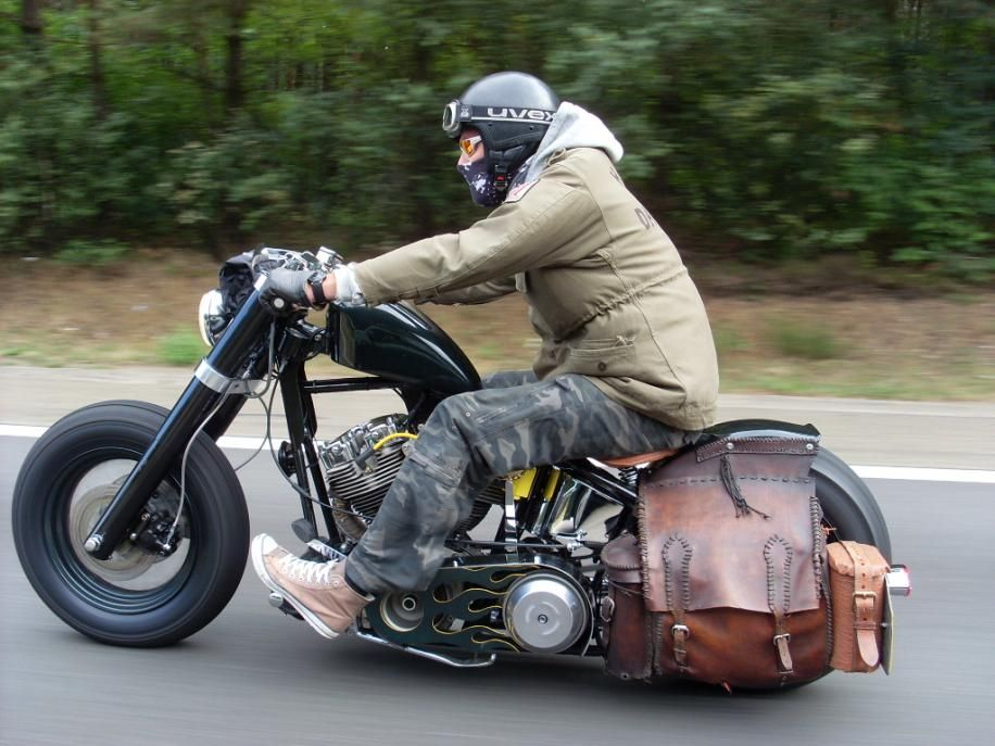 Cold Weather Riding Bobber Bikes Bobber Motorcycle