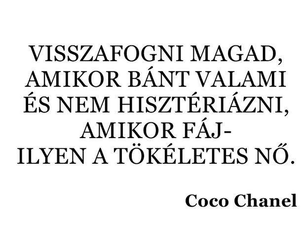 coco chanel idézetek magyarul coco chanel idézetek   Google keresés | Inspirational quotes, Life
