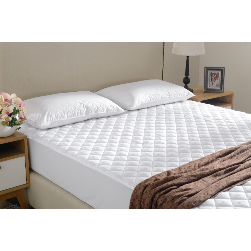 Quilted Mattress Pad And Protector Assorted Sizes