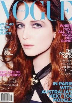 All redhead vogue models apologise, but