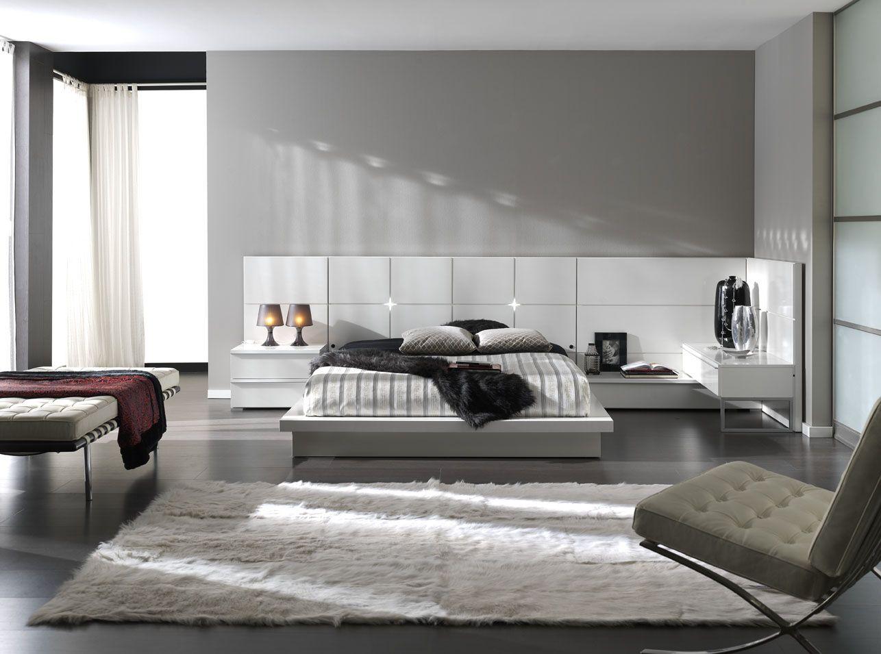 combinar una recamara con paredes en gris - Google Search | Bedroom ...