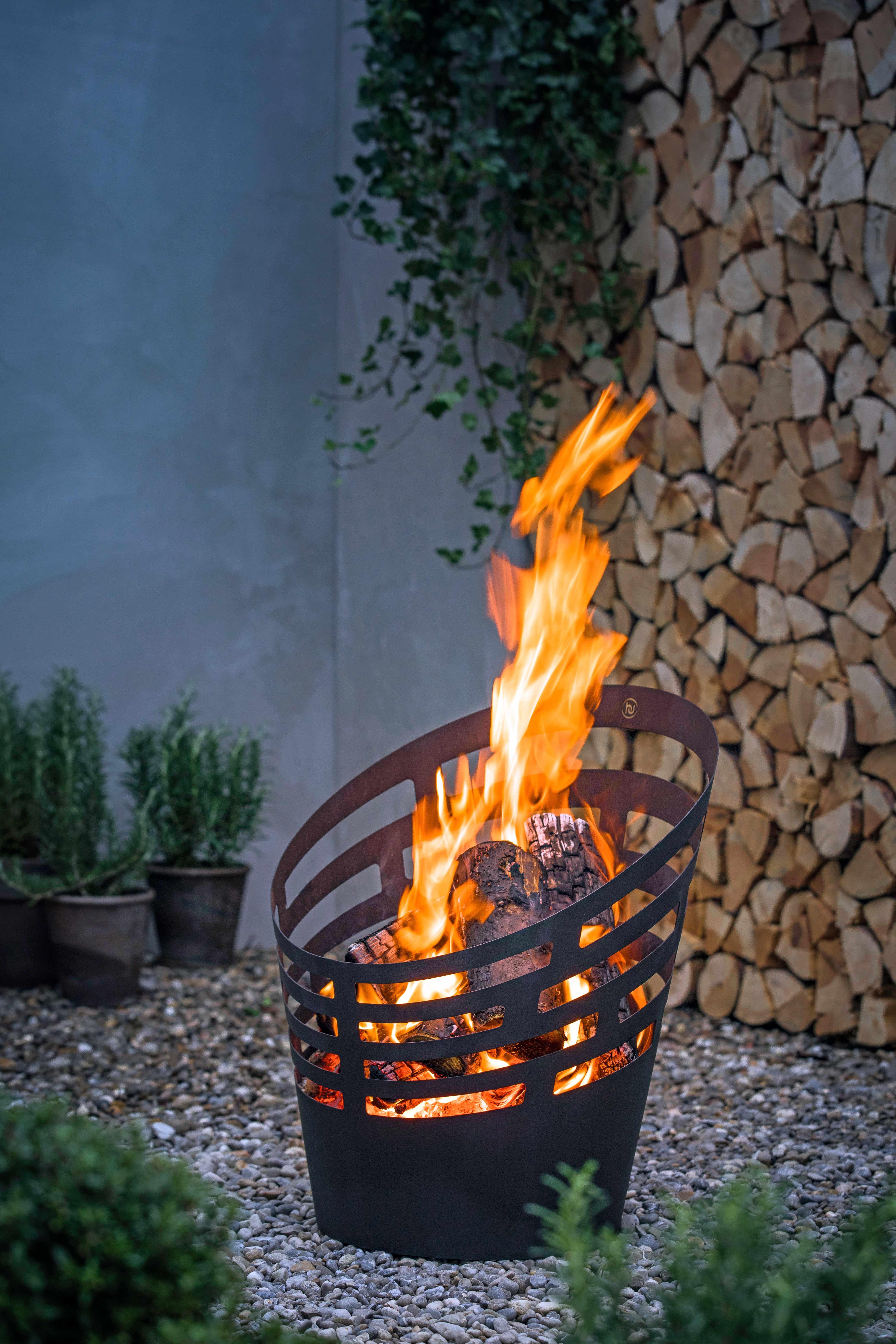 Feuerkorb Feuerkorb Feuerstelle Garten Feuer