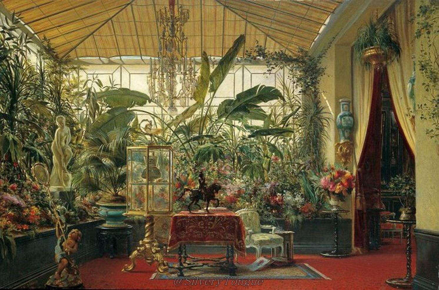 winter garden house matylde bonaparte by charles giraud empress