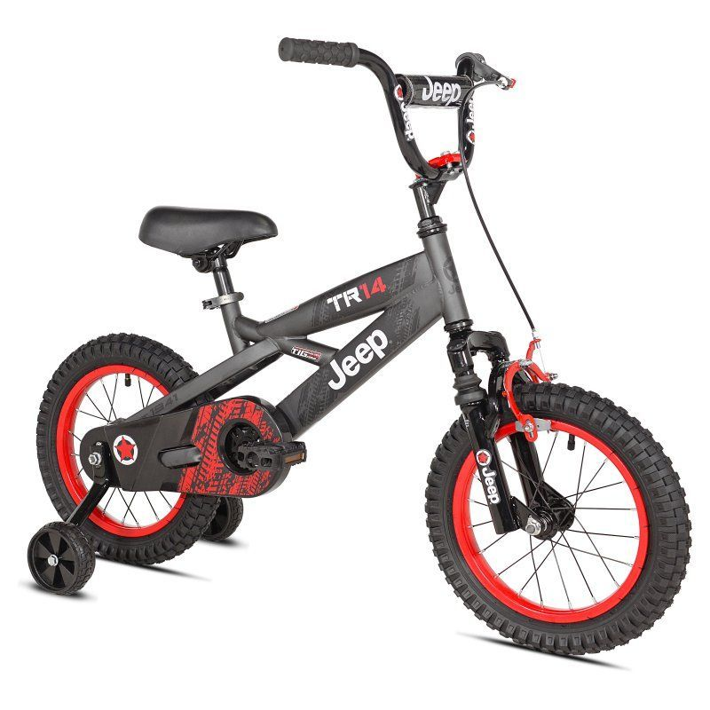 Jeep 14 In Boys Tr14 Bike 61412 Products Bike With Training