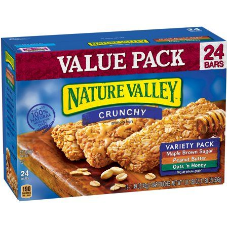 Food Products In 2019 Nature Valley Granola Peanut Butter Ingredients Crunchy Granola