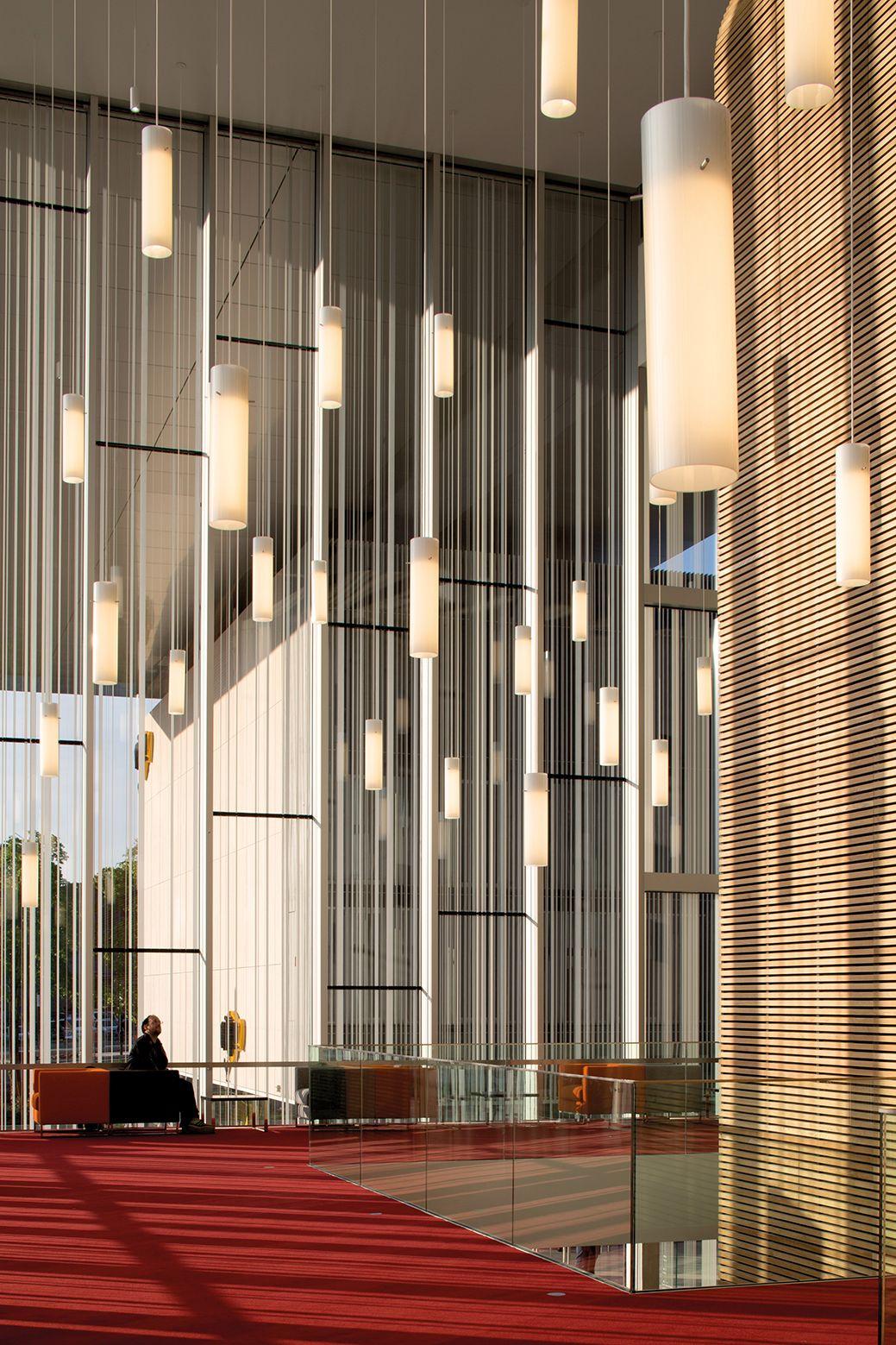 Moderne wohnarchitektur les quinconces cultural centre  le mans  babin renaud