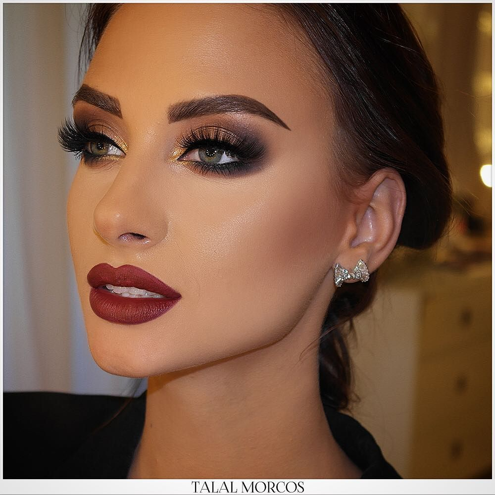Image May Contain 1 Person Red Lips Makeup Look Red Lip Makeup Red Dress Makeup [ 1000 x 1000 Pixel ]