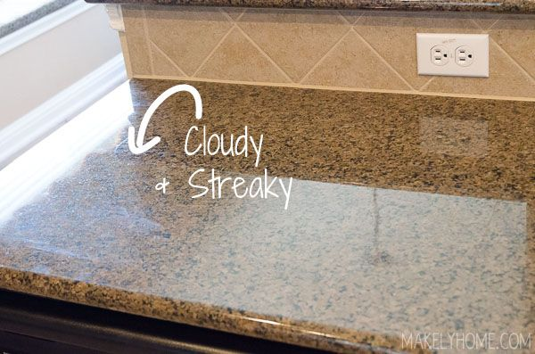 How to Clean Granite Countertops with Steam | Clean granite and ...