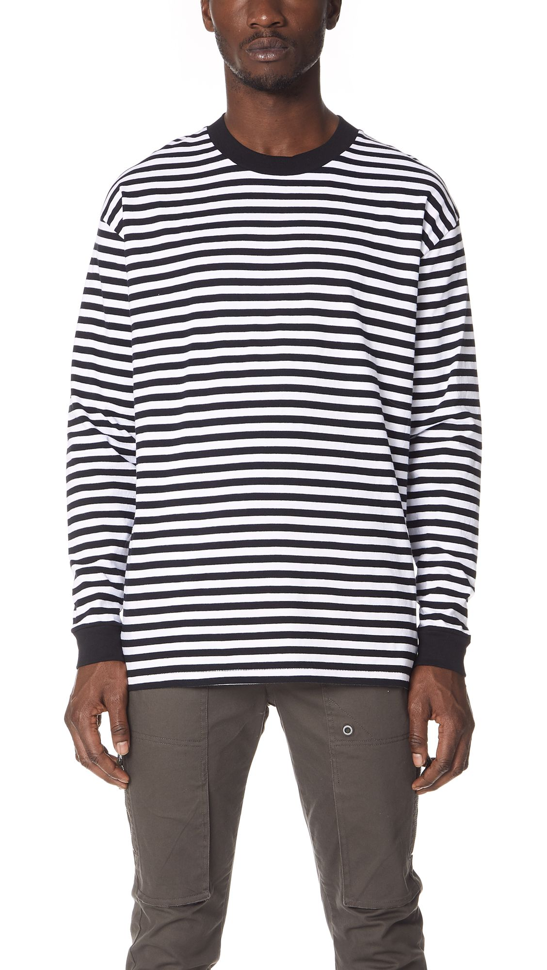 45c01bcbf6f ZANEROBE STRIPE BOX LONG SLEEVE TEE. #zanerobe #cloth # | Zanerobe ...