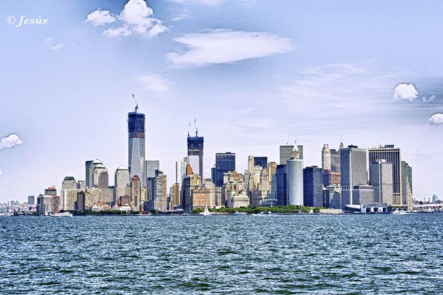 Manhattan Skyline by Jesus Martin Mirelis, via 500px