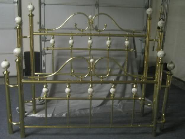 Spray Paint Brass Bed Need Ideas For Updating Headboard
